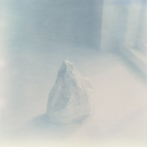 Detail of: Iceberg [107 x 107 cm, Scan of Polaroid, Lamba C-print, 1/5] © Ditte Knus Tønnesen