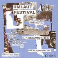 Umlaut festival
